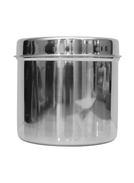 Steel Container with lid (9cm)