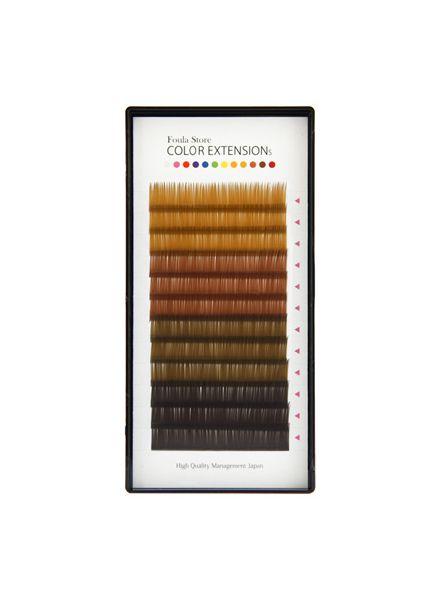 Color Volume Up Lash 12 Lines Brown MIX