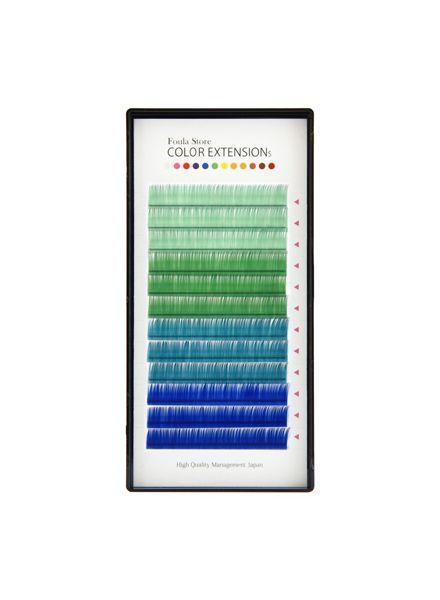 Color Volume Up Lash 12 Lines Blue MIX